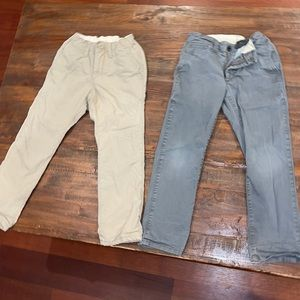 gap kids regular gray and cream jeans bundle